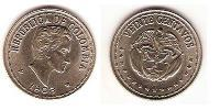20 Centavo Republic of Colombia (1886 - ) Copper-Nickel
