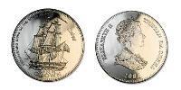 1 Crown Tristan da Cunha Copper-Nickel Elizabeth II (1926-)