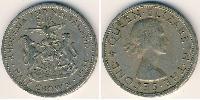 1/2 Corona Rhodesia (1965 - 1979) Rame