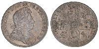 1 Crown Kingdom of Great Britain (1707-1801) Silver George I (1660-1727)