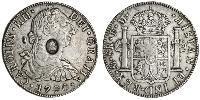1 Dollar / 8 Real Nouvelle-Espagne (1519 - 1821) / Royaume-Uni de Grande-Bretagne et d
