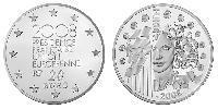 20 Euro French Fifth Republic (1958 - ) Silver