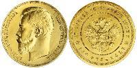 100 Franc / 37.5 Ruble Russian Empire (1720-1917) Gold Nikolay II (1868-1918)