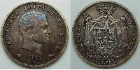5 Lira First French Empire (1804-1814)  Napoleon Bonaparte  (1769 - 1821)