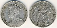 1/2 Крона(английская) Южная Родезия (1923-1980) Серебро