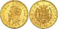 10 Lira Kingdom of Italy (1861-1946) Gold Victor Emmanuel II of Italy (1820 - 1878)