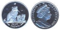 1 Crown Isle of Man Silver