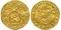 1 Ducat Papal States (752-1870) Gold Pope Leo X (1475 -1521)