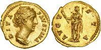 1 Aureus Römische Kaiserzeit (27BC-395) Gold Faustina II (130-175)
