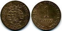 1 Escudo Mozambique Bronze