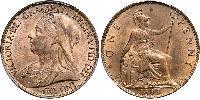 1 Penny United Kingdom Copper Victoria (1819 - 1901)