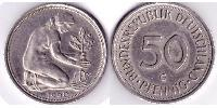 50 Pfennig Federal Republic of Germany (1990 - ) Copper-Nickel