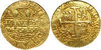 8 Escudo Peru Gold Charles II of Spain (1661-1700)