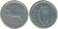 1 Pound Ireland (1922 - ) Copper-Nickel