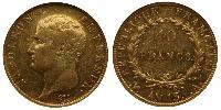 40 Franc First French Empire (1804-1814)  Napoleon Bonaparte  (1769 - 1821)