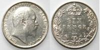 1 Sixpence Regno Unito di Gran Bretagna e Irlanda (1801-1922) Argento Edoardo VII (1841-1910)