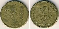 100 Peso United Mexican States (1867 - )