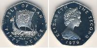 50 Пенни  Серебро