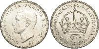 1 Crown Australie (1939 - ) Argent George VI (1895-1952)