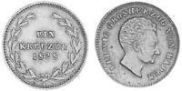 1 Kreuzer Grand Duchy of Baden (1806-1918) Copper Louis I, Grand Duke of Baden (1763 - 1830)