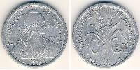 10 Cent French Indochina (1887-1954) Aluminium