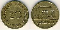 20 Franc  Aluminium-Bronze