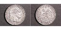 50 Centimo Haiti Silber