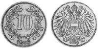 10 Heller Austria-Hungary (1867-1918) Copper-Nickel-Zinc