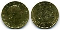 200 Lira Italy Aluminium-Bronze