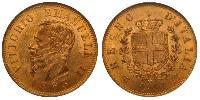 10 Lira Kingdom of Italy (1861-1946) Gold