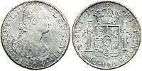 8 Real Vice-royauté du Río de la Plata (1776 - 1814) / Bolivie Argent Charles IV d