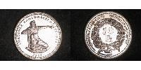50 Franc Switzerland Silver