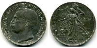 2 Lira Kingdom of Italy (1861-1946) Argento