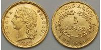 5 Peso Kingdom of Spain (1814 - 1873) Gold