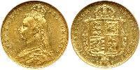 1/2 Sovereign United Kingdom Gold Victoria (1819 - 1901)