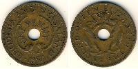 1 Penny Rhodesia (1965 - 1979) Bronze