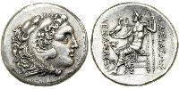 1 Tetradrachm Macedonian Kingdom (800BC-146BC) Silver Alexander III of Macedon (356BC-323BC)