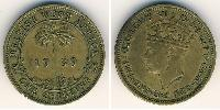 1 Shilling África Occidental Británica (1780 - 1960) Latón