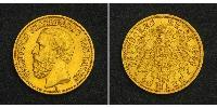 20 Mark Grand Duchy of Baden (1806-1918) Gold