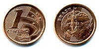 1 Centavo Brazil Copper plated steel