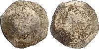 1/2 Крона(английская) Королевство Англия (927-1649,1660-1707) Серебро Яков I (1566-1625)