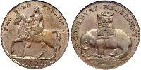 1/2 Penny Kingdom of Great Britain (1707-1801)