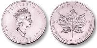 50 Dollaro Canada Platino Elisabetta II (1926-)