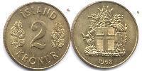 2 Krone Iceland