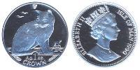 1 Crown Isle of Man Silber