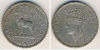 2 Шиллинг Южная Родезия (1923-1980) Медь-Никель