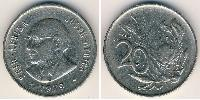 20 Cent South Africa Copper-Nickel