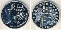 1.5 Euro French Fifth Republic (1958 - ) Silver