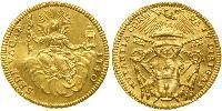 1 Zecchino Papal States (752-1870) Gold