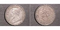 1/2 Shilling Afrique du Sud Argent Paul Kruger (1825 - 1904)